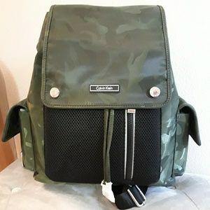 Calvin Klein Camo Backpack - Small
